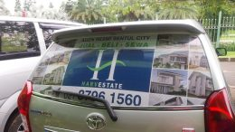 One Way Sticker Avanza